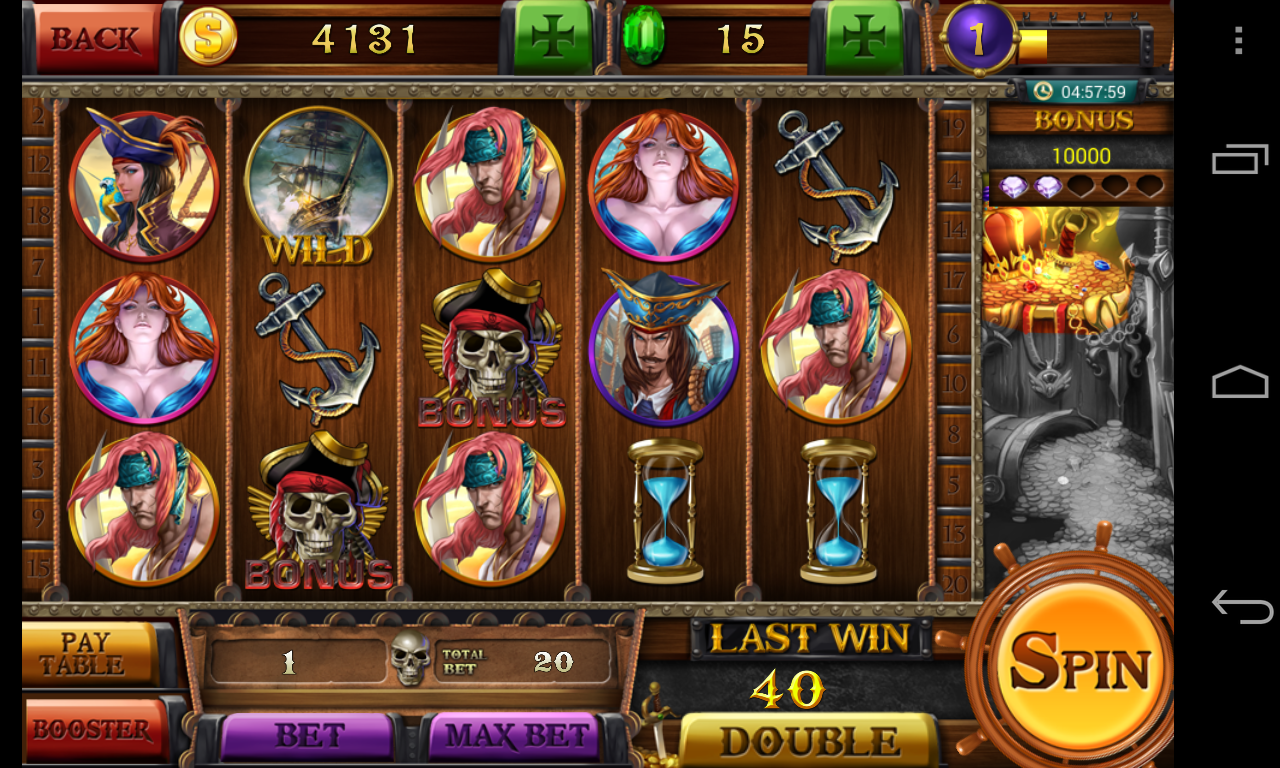 free slot machine pirates