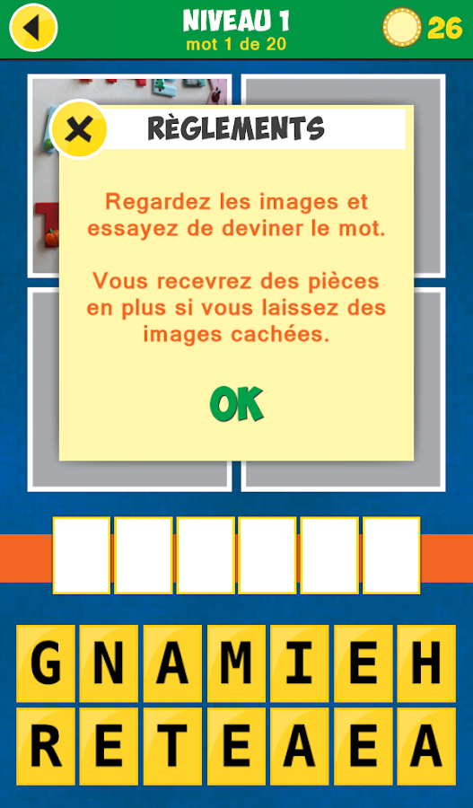 4 images 1 mot play store