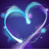 Blue Heart Live Wallpaper