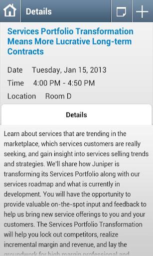 Juniper GPC 2013 App