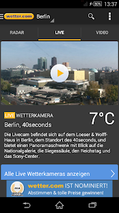 wetter.com- screenshot thumbnail