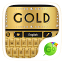 Gold Luxury Go Keyboard Theme 4.15 APK Скачать
