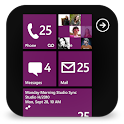 GOSMS WP8 Purple Theme
