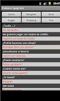 Screenshot of Spanish Italian Dictionary