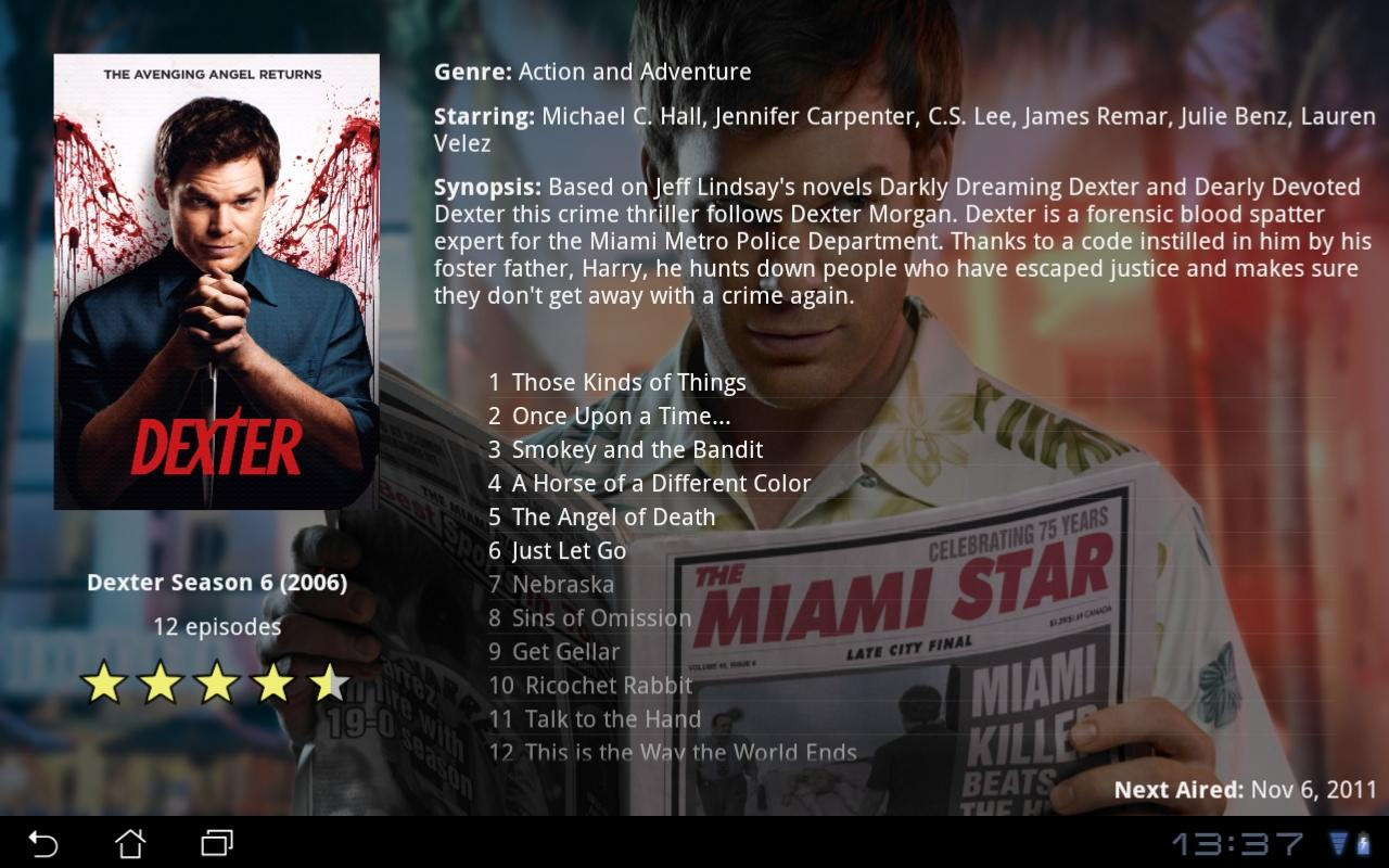 MovieBrowser UPnP- screenshot