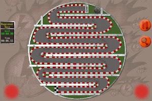Screenshot of Duro Race Arcade Game