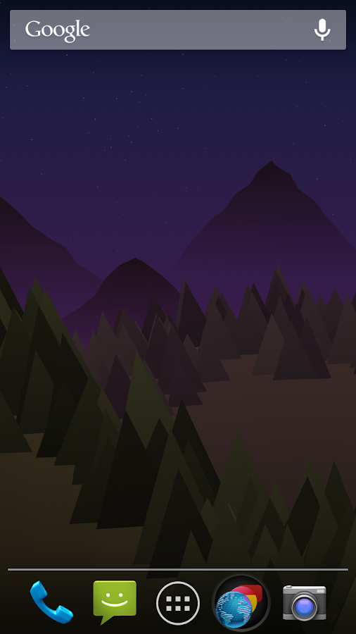 Forest Live Wallpaper- screenshot