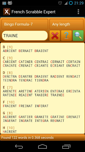 French Scrabble Expert 2.8 screenshots 4