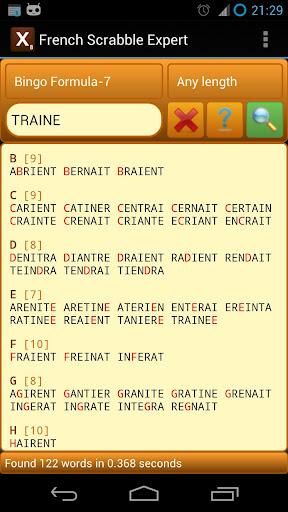 French Scrabble Expert 2.8 screenshots 4