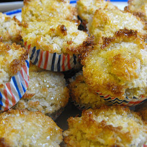 Coconut Cookies with Honey and Oats