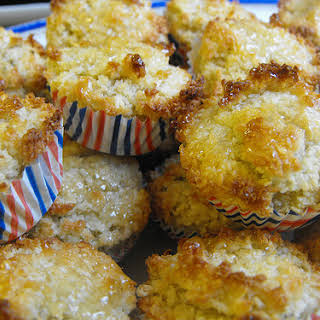 Coconut Cookies with Honey and Oats.