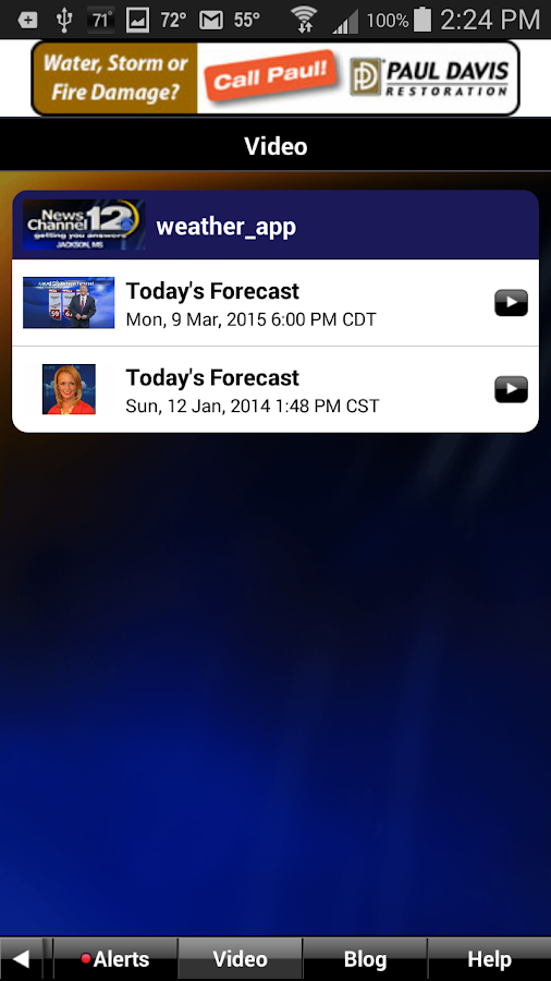 WJTV WX - screenshot