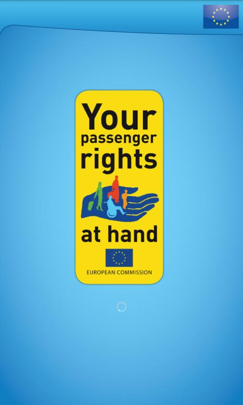 Your Passenger Rights – posnetek zaslona