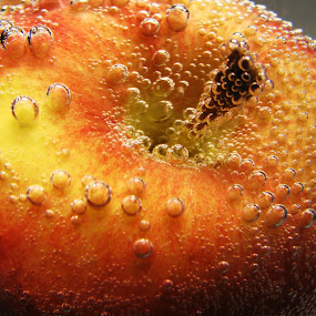 Apple a Day by Janet Herman - Food & Drink Fruits & Vegetables ( water, fruit, red, apple, bubbles, apples, air,  )