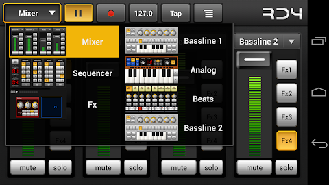 RD4 Groovebox Demo Screenshot 4
