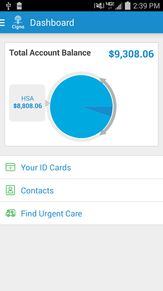 myCigna Android 2