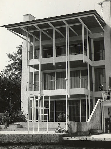 Sirer Mansion, Yeniköy, İstanbul, 1964-1967