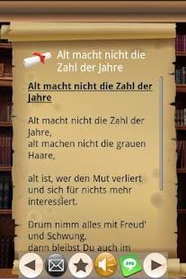 Gedichte für Feste aller Art!- screenshot thumbnail