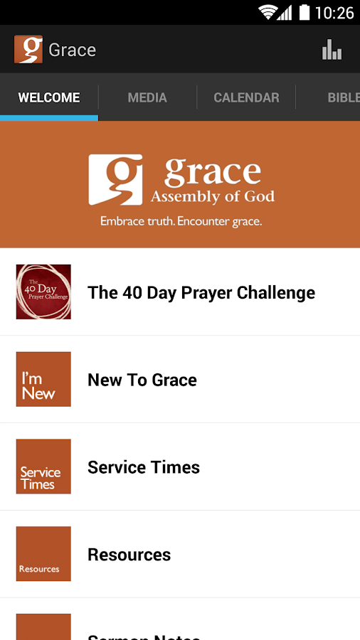 Grace Assembly of God - screenshot