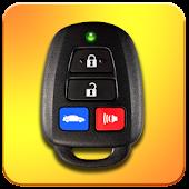 Car Key Remote Simulator