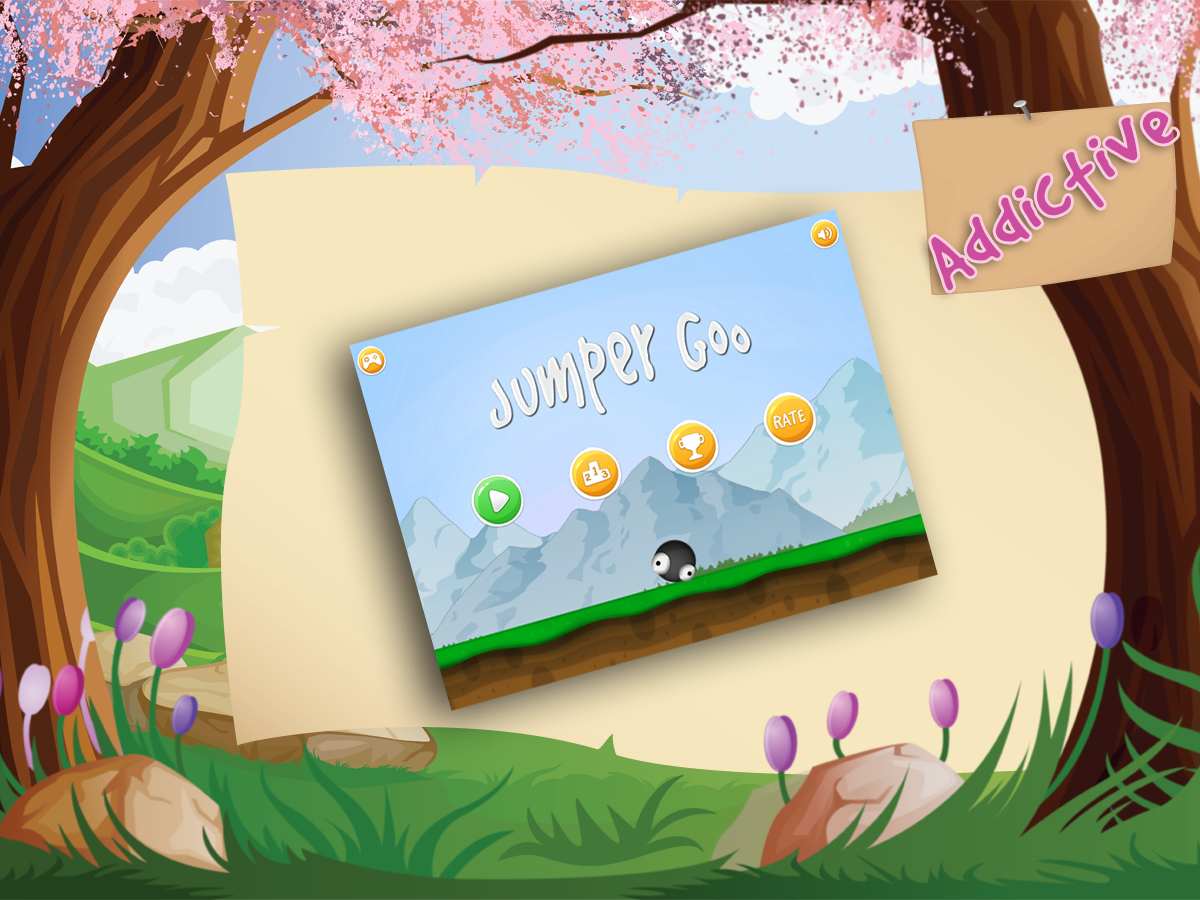 Jumper Goo HD- screenshot