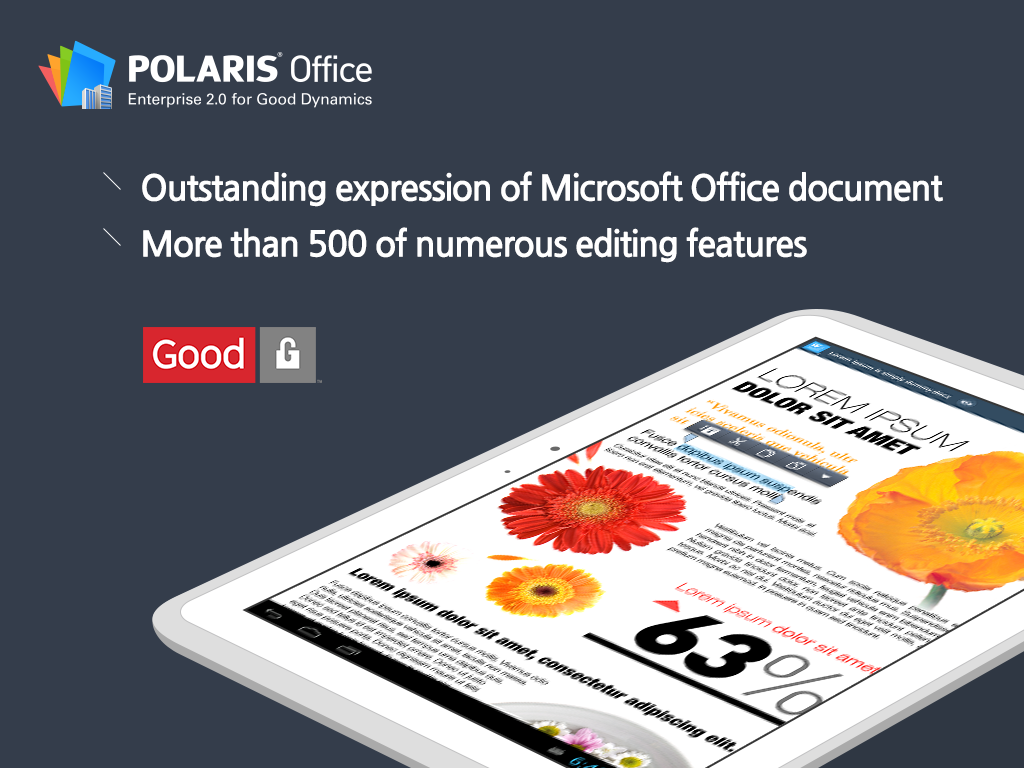Polaris Office for Good- screenshot