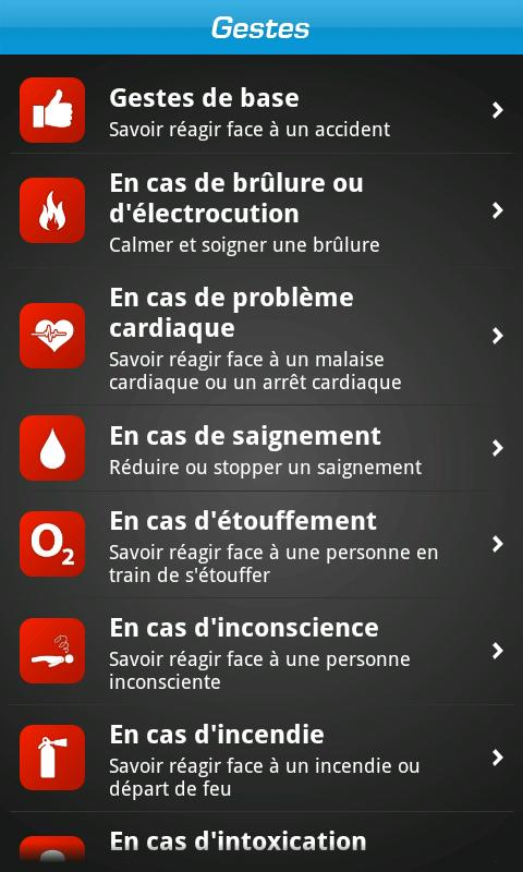iSOS : In case of emergency - screenshot
