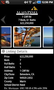 Alain Pinel Realtors - screenshot thumbnail