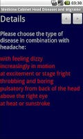 Screenshot of Medicine Cabinet Head