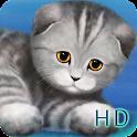 Silvery the Kitten HD Lite icon
