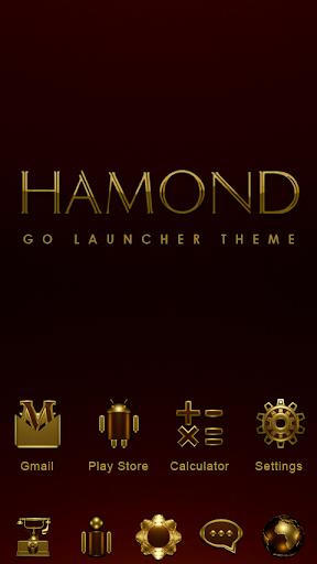 Hamond GO Launcher Theme