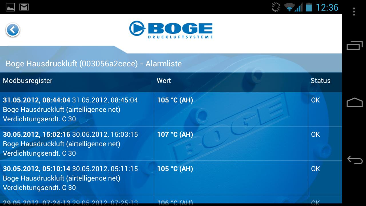 BOGE - screenshot