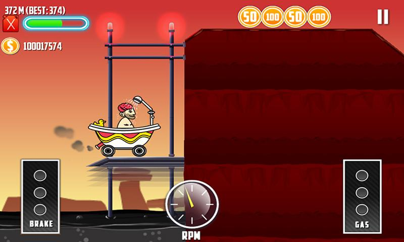 Mountain Climb Race 2- screenshot