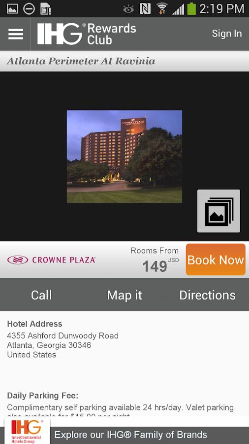 IHG® Hotel Booking & Deals - screenshot