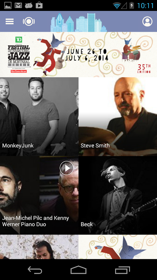 Jazz Montreal Festival - screenshot