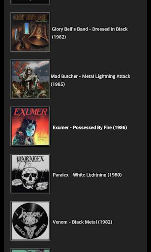 Classic Metal Samples