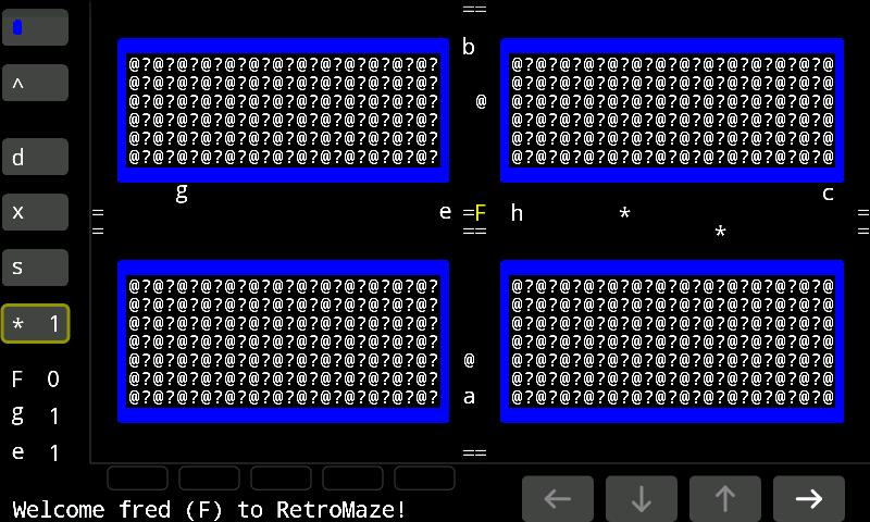 RetroMaze Lite - screenshot