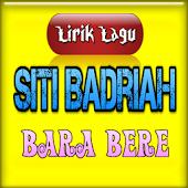 Lirikan Lagunya Siti Badriah
