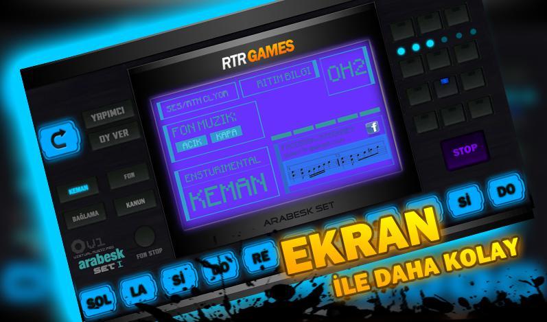 [Android] Ücretsiz R-Arabesk Set Programı İndir