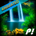 Nature Waterfall animated icon