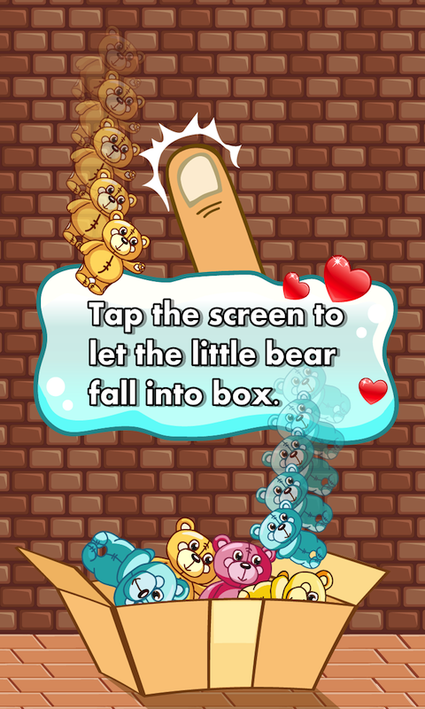 Toy Teddy Bear Falling- screenshot