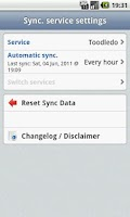 Screenshot of DGT GTD Toodledo plugin [Beta]