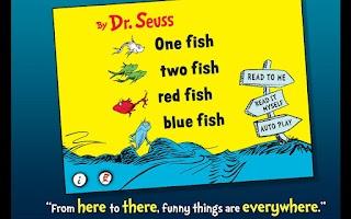 Screenshot of One Fish Two Fish - Dr. Seuss