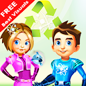 Ava and Avior Save the Earth icon