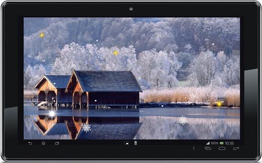 【免費個人化App】Winter Snow Nature HD LWP-APP點子