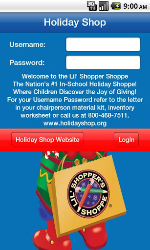 Holiday Shop Cash Register
