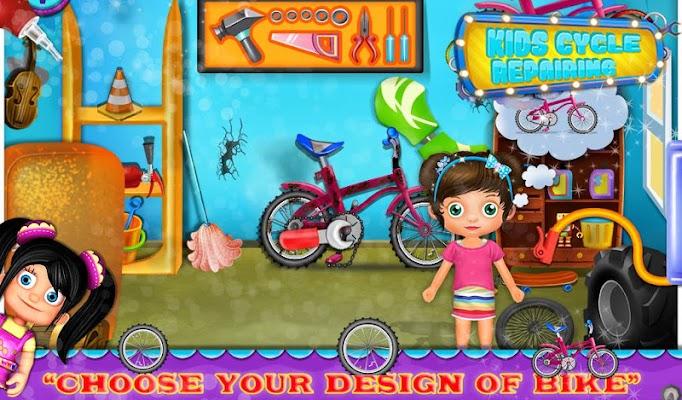 Kids Cycle Repairing - screenshot