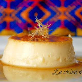 Traditional Mexican Flan.