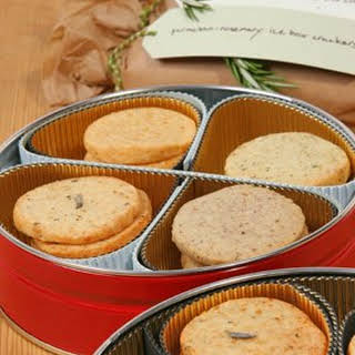 Parmesan-Rosemary Icebox Crackers.