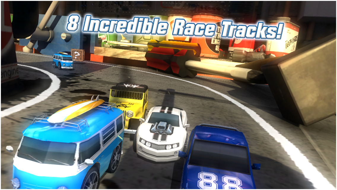 Table Top Racing Free screenshot #3